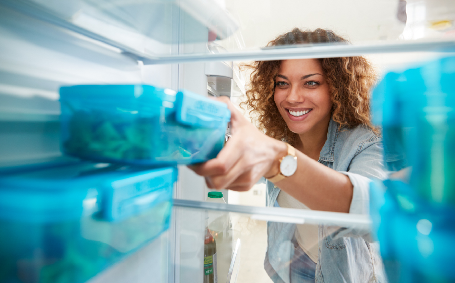 Cleaning & packing refrigerator for energy efficiency